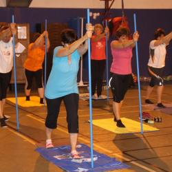 Stretching bâtons